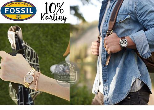 Fossil Horloges en Sieraden