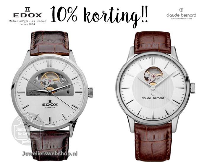 Edox en Claude Bernard horloges
