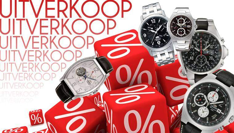 orient horloges-watches opruiming uitverkoop sale