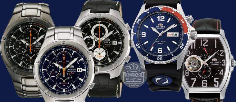 Orient horloges - Ori?nt watches