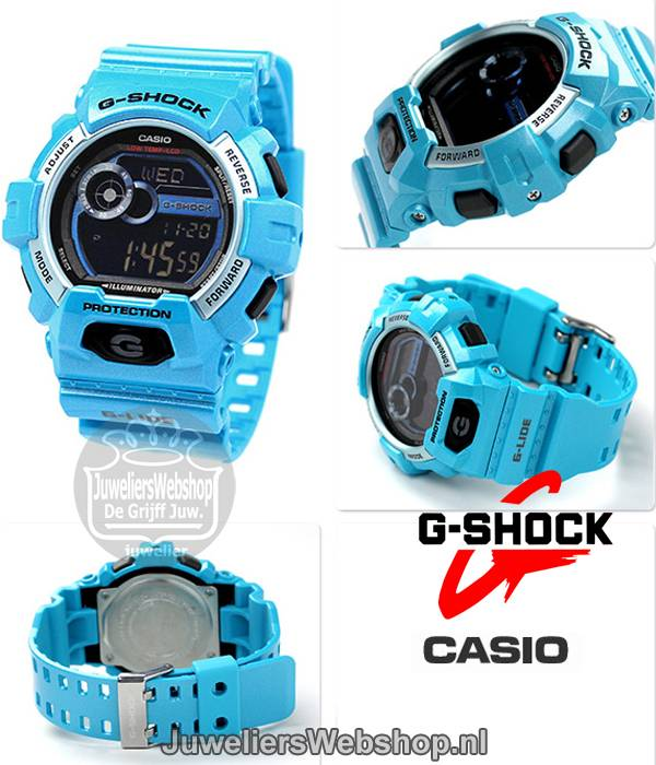 18ae1606c79 Casio horloge GLS-8900-2ER G-Shock heren Casio Horloges -Watches