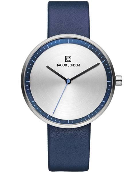 herfst schoenen laagste prijs aanbod Jacob Jensen 282 Dames horloge Strata Blauw Horloges JJ282