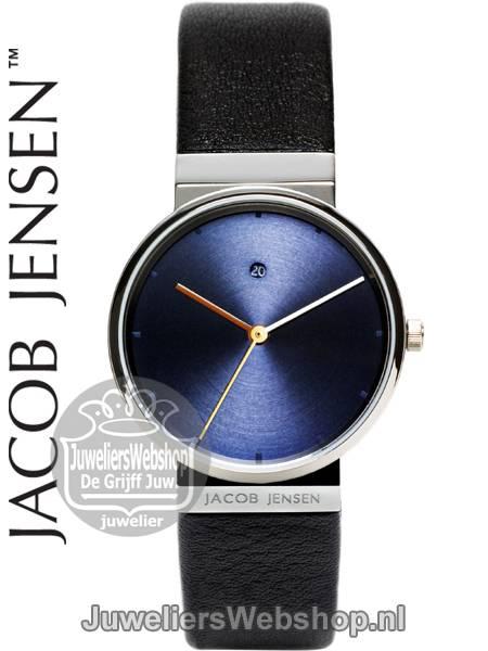 origineel groot assortiment schattig Jacob Jensen 851 Dames horloge Dimension - Jacob Jensen horloges