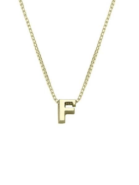 gouden letters voor ketting