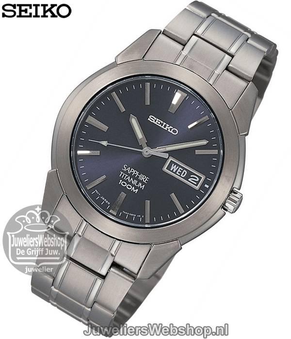 online store addc5 18db5 Seiko SGG729P1 Horloge Titanium