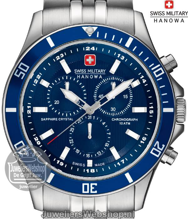 | Swiss Military Hanowa Flagship Chrono horloge 06-5183.7.04.003