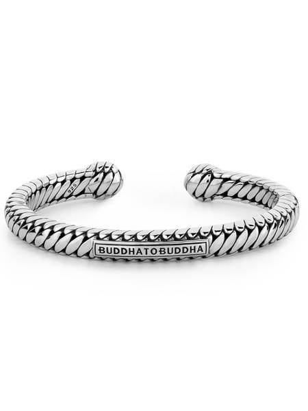 buddha to buddha armband zilver