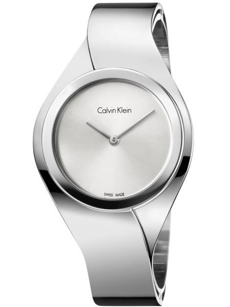 Calvin Klein Senses K5N2M126 Horloge. CK Senses Medium Zilver dames 9a68052c1c