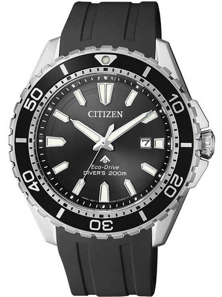 03ee29e17a7ac4 Citizen BN0190-15E Promaster Sea duikhorloge zwart