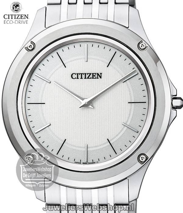 Citizen Ar5000 68a Ultra Plat Elegance Horloge Eco Drive Herenhorloge