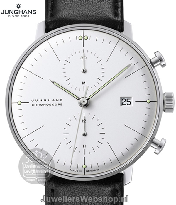 | Junghans horloge 027/4600.00 Max Bill Chronoscope
