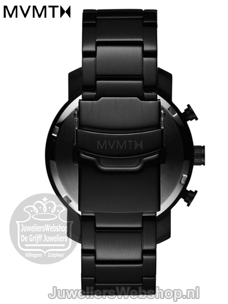 | MVMT Chrono 40 Black Link D-MC02-BB