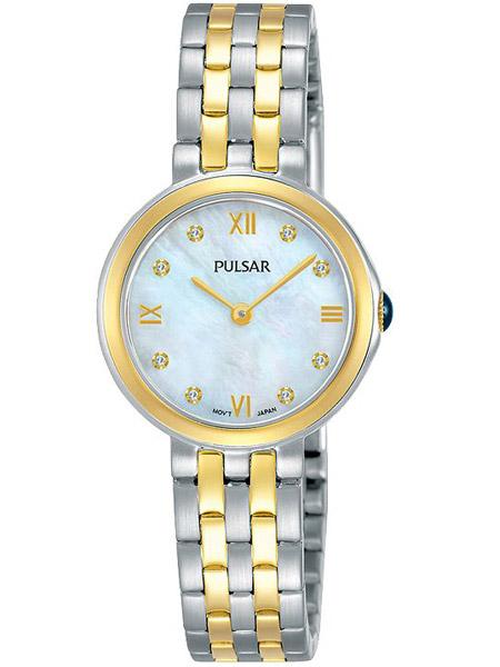 95826b3292a Pulsar PM2244X1 Dames Horloge Staal Bicolor met Swarovski
