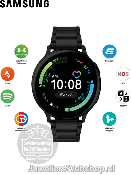 Samsung Active2 Special Edition Midnight Smartwatch SA.R820BS