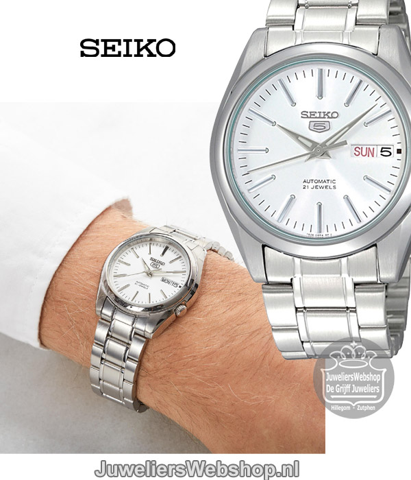 low priced 58a9d 9a5cb Seiko 5 Sports Automaat SNKL41K1 Horloge Heren