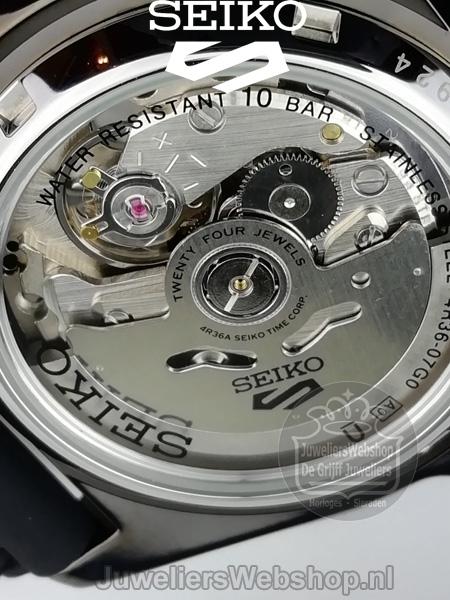 Seiko 5 Sports SRPD55K1 horloge Automaat