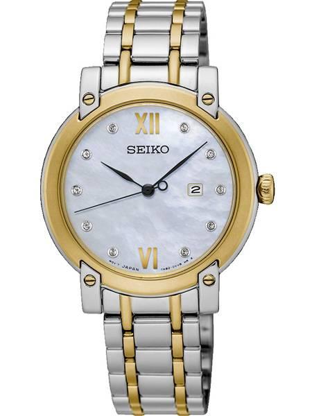 Goede Seiko SXDG84P1 Dames Bicolor Horloge met Diamant DX-43