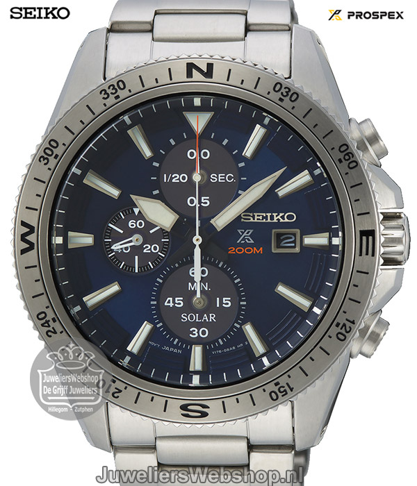 Seiko Prospex SSC703P1 Solar Chronograaf Horloge