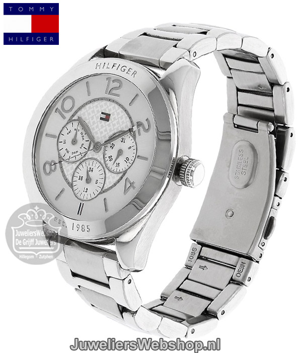 tommy hilfiger cracy th1781215 dames horloge multi date