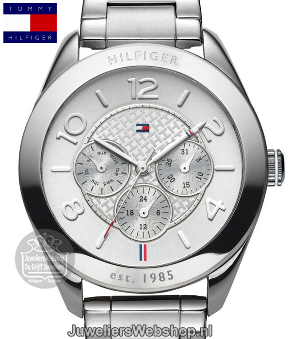 tommy hilfiger gracyy horloge th1781215 staal