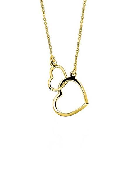 ketting met gouden hartje