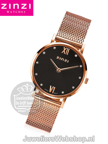 Zinzi Lady horloge ZIW632M Rose Grey