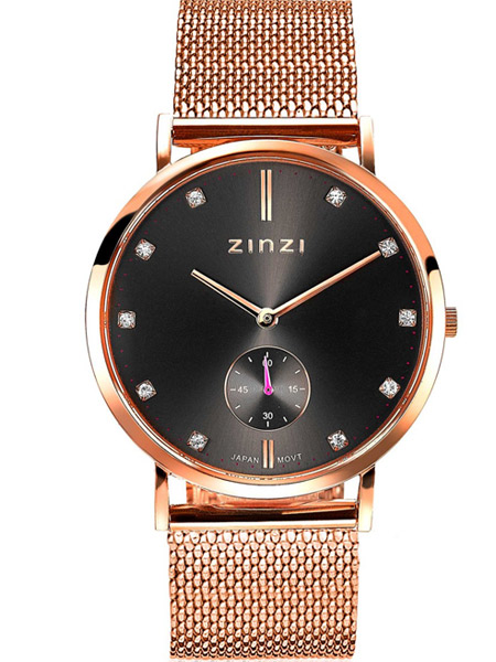 | Zinzi horloge ZIW427M Retro Rose Grey