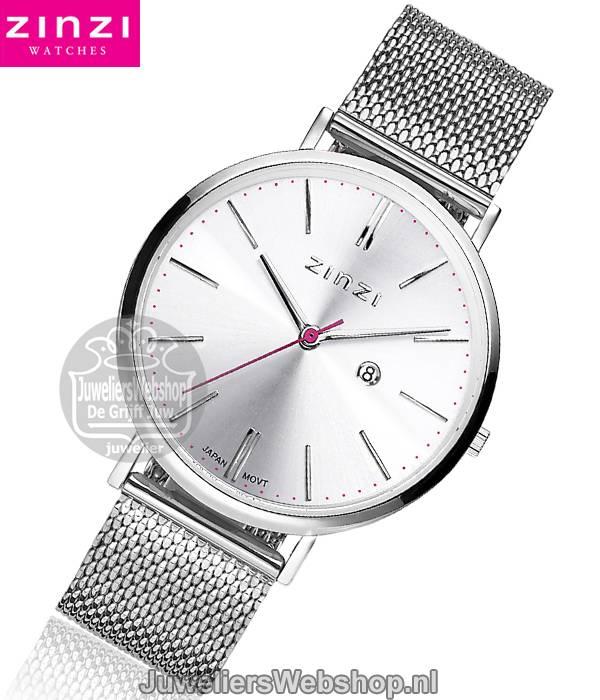 Zinzi horloge ZIW402M Retro Silver