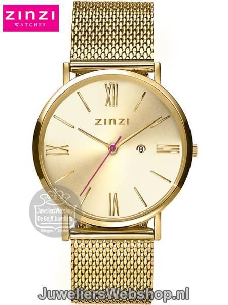 Zinzi Roman Horloge Ziw510m Goud Zinzi Dames Horloges Roman