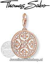 Thomas Sabo Bedel 0994-416-14 Ornament Charm Rose