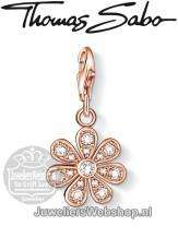 Thomas Sabo Bedel 1003-416-14 Flower Charm Rose