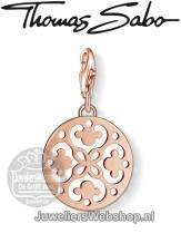 Thomas Sabo Bedel 1024-415-12 Ornament Charm Rose