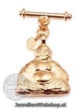 TOV Essentials Luxury Pendants -  Buddha pendant 828-004 Rose