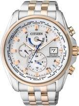 Citizen Radio Controlled AT9034-54A horloge Eco-Drive Bi Color