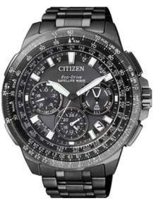 Citizen CC9025-51E horloge Satellite Wave F900 Titanium Zwart