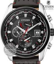 Citizen Radio Controlled AT9036-08E horloge Dual Time Eco-Drive