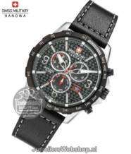 Swiss Military Hanowa Ace horloge 06-4251.33.001 Chrono Zwart