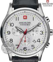 Swiss Military Hanowa Patriot horloge 06-4187.04.001 Zilver