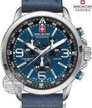 Swiss Military Hanowa Arrow horloge 06-4224.04.003 Chrono Blauw