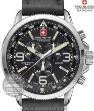 Swiss Military Hanowa Arrow horloge 06-4224.04.007 Chrono Zwart