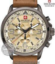 Swiss Military Hanowa Arrow horloge 06-4224.30.002 Chrono Bruin