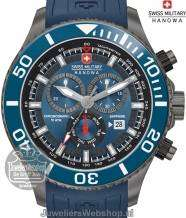 Swiss Military Hanowa Immersion horloge 06-4226.30.003.03 Blauw