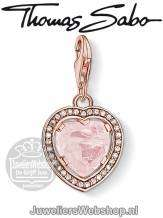 Thomas Sabo Bedel 1105-537-9 Heart Charm Rose