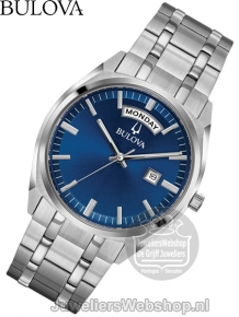 Bulova Surveyor Herenhorloge 96C125 Blauw