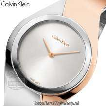 Calvin Klein horloge Senses Bi Color K5N2S1Z6 Small