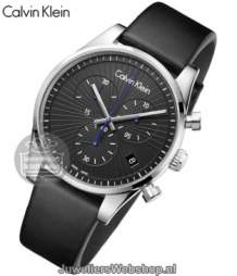 CK Watch Steadfast K8S271C1 Heren Zwart