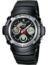 Casio AW-590-1AER G-Shock World Timer Zilver