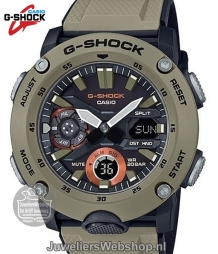 casia ga-2000-5aer g-shock horloge military color