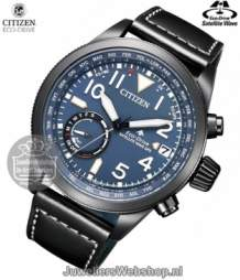 CC3067-11L citizen satellite wave horloge eco drive