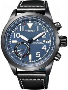 citizen satellite wave eco drive CC3067-11L horloge